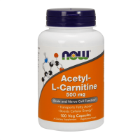 Acetyl L-Carnitina 500mg - 100 vcaps - Now Foods