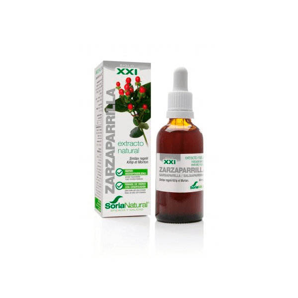 Extracto de Zarzaparrilla - 50ml [Soria Natural]