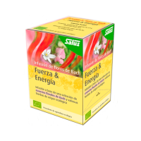 Strength & energy bach flower infusion bio - 15 sachets