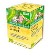 Lucid & focused bach flower infusion bio - 15 sachets