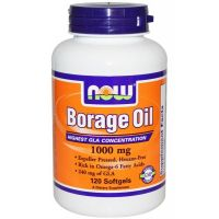 Borage Oil 1000 Mg  60 Sgels      [Now]