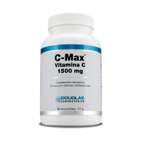 C-Max Vitamina C 1500mg de 90 tabletas de la marca Douglas Laboratories (Vitaminas)