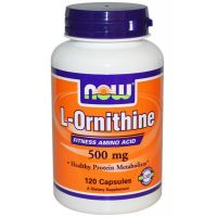 ornithine 500mg 120 caps