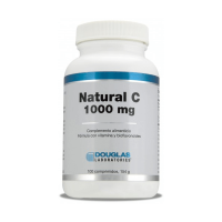 Natural C 1000mg de 100 tabletas del fabricante Douglas Laboratories (Vitamina C)