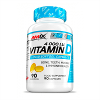 Vitamin d 4000iu - 90 capsules - Amix Performance