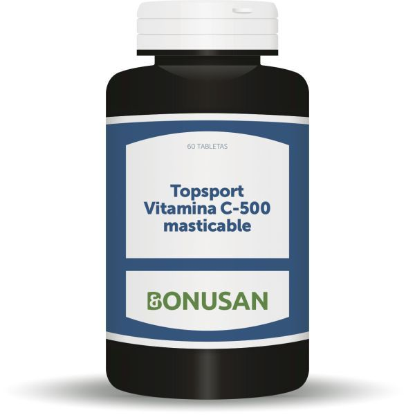 topsport vitamina c 500 60 caps. masticables