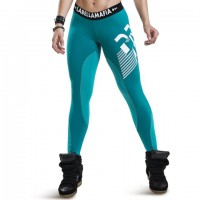 Leggins kryptonite ultimate turquoise - Acquista online su MASmusculo