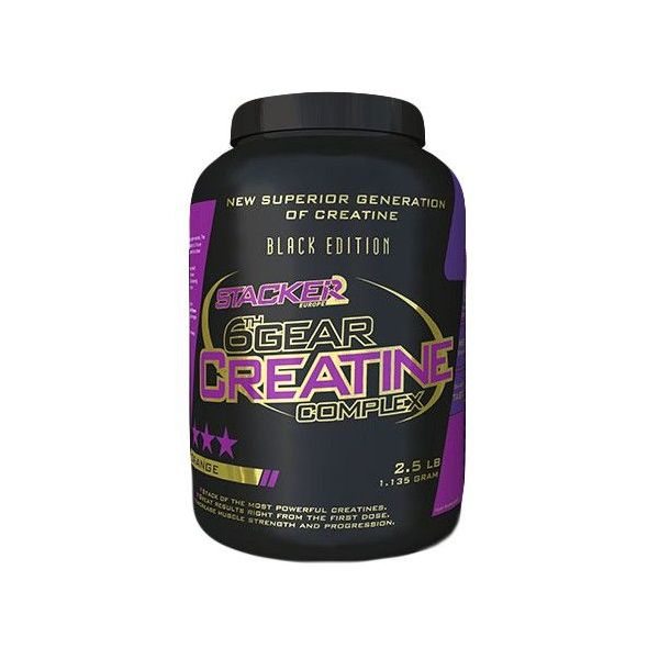 6th Gear Creatine - 1.35 kg Stacker Europe - 1