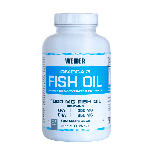 Omega 3 fish oil 1000mg - 180 capsules Weider - 1