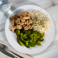 Chicken with rice and broccoli ManaFoods - 2