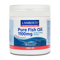 Pure fish oil 1100mg - 120 capsules Lamberts - 1