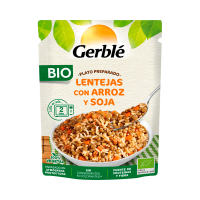 Prepared lentil dish with rice and soy - 250g Gerblé - 1