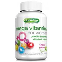 Mega Vitamins for Women - 60 tab