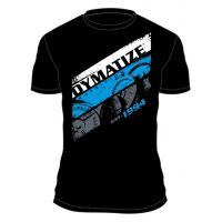 T shirt dymatize stripe black