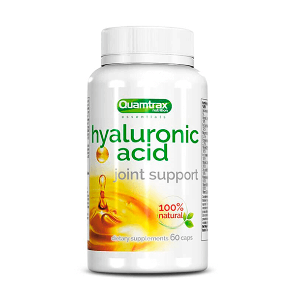 Acide Hyaluronique 100mg - 60 capsules Quamtrax Essentials - 1