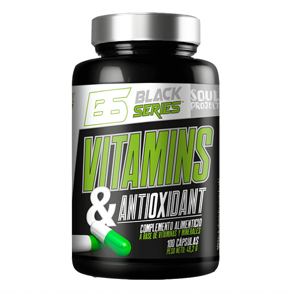 Vitamins and Antioxidant - 100 caps Soul Project - 1
