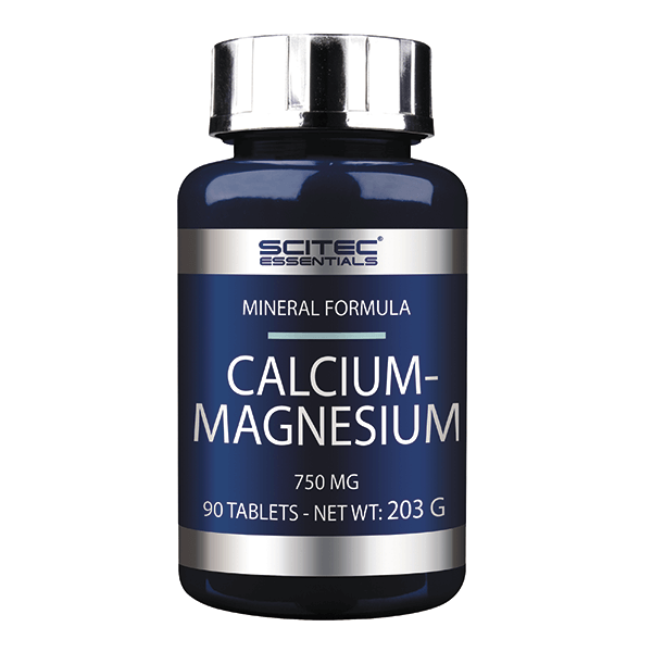 Calcium-magnesium 750mg - 90 tablets Scitec Essentials - 1