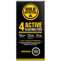 4 Active Electrolytes - 10 sticks GoldNutrition - 1