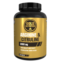 Arginina y Citrulina 1000mg - 100 tabletas
