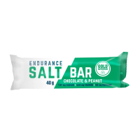 Barrita Endurance Salt Bar de 40g de la marca GoldNutrition (Barritas de Carbohidratos)