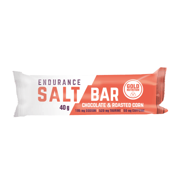 Barrita Endurance Salt Bar envase de 40g de GoldNutrition (Barritas de Carbohidratos)