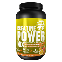 Creatina Power Mix envase de 1 kg de GoldNutrition (Creatina Monohidrato)