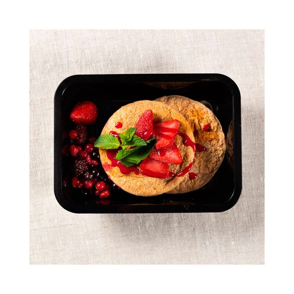 Oat cakes with red fruits - ManaFoods ManaFoods - 1