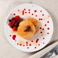 Oat cakes with red fruits - ManaFoods ManaFoods - 2