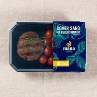 Veal hamburger with batata chips - ManaFoods ManaFoods - 1