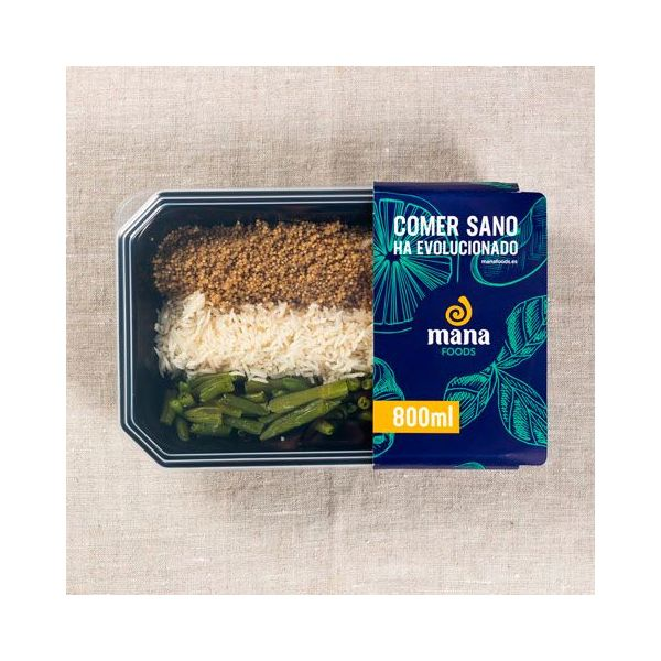 Quinoa with rice and green beans - ManaFoods ManaFoods - 1