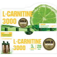 L-Carnitine 3000 - 20 Vials GoldNutrition - 1