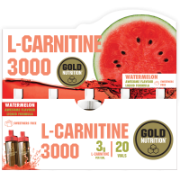 L-Carnitine 3000 - 20 Vials GoldNutrition - 2