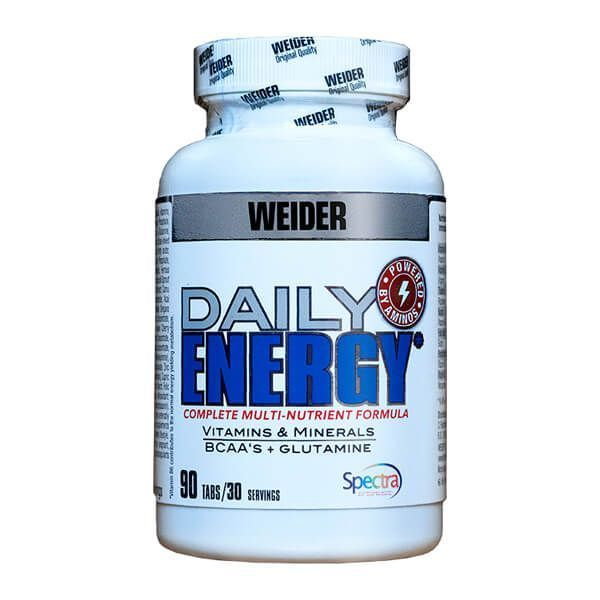 Daily energy - 90 tablets Weider - 1