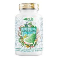 Supergreens and Fruits envase de 60 tabletas de MTX Nutrition (Vitaminas y Minerales)