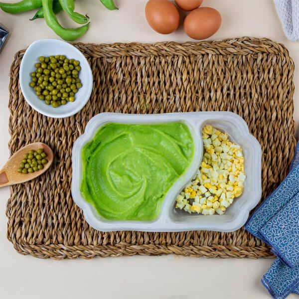 Pea cream with boiled egg - ManaFoods ManaFoods - 1