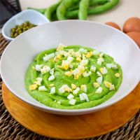 Pea cream with boiled egg - ManaFoods ManaFoods - 2