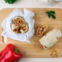 Chicken wrap with mustard and honey ManaFoods - 2