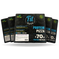 Pack 5 Protein Fit Pizza de Fitness Burger (Comida preparada)