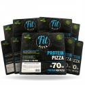 Pack 9 Protein Fit Pizza de Fitness Burger (Comida preparada)