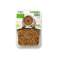 Lentils with quinoa and vegetables - 220g