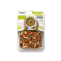 Tricolor quinoa with shiitake and hazelnuts - 250g