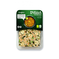 Paella with 8 vegetables - 280g