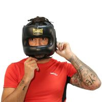 Fullboxing leather helmet Softee - 1
