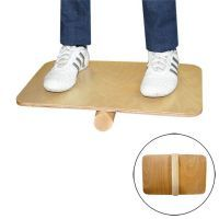 Wooden balance board with roller Softee - 1