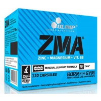 ZMA 810Mg - 120 caps- Buy Online at MOREmuscle