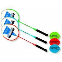 Steel badminton racket Atipick - 1