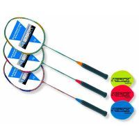 Steel and aluminum badminton racket Atipick - 1