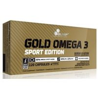 Gold Omega3 Sport Edition - 120 caps- Buy Online at MOREmuscle