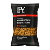 High protein 55% tubetii rigate - 250g Pasta Young - 1