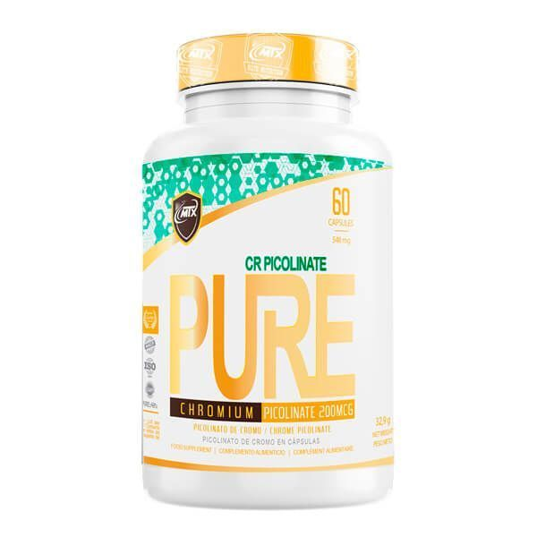 Cr picolinate - 60 capsules MTX Nutrition - 1
